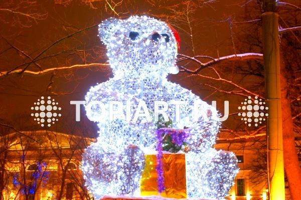 Новогодние светящиеся фигуры TOPiART.ru