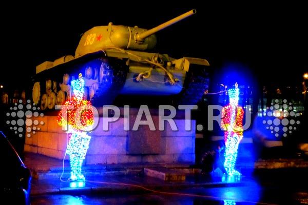 novogodnee_ulichnoe oformlenie_spb_1