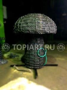 """Топиари каркас """"Гриб"""" www.topiart.ru"""