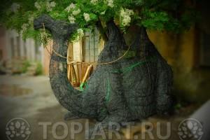 """Топиарный каркас под растения """"Верблюд"""" www.topiart.ru"""