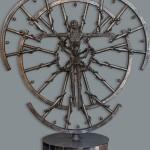 Скульптура из железа Рашида Касимова