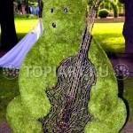 """Топиари из искусственной травы """"Медведь"""""""