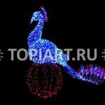 "Светящаяся фигура ""Жар Птица"" www.topiart.ru"