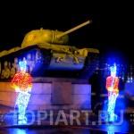 Светодиодные светящиеся фигуры