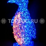 "Светящаяся фигура ""Пингвин"". www.topiart.ru"