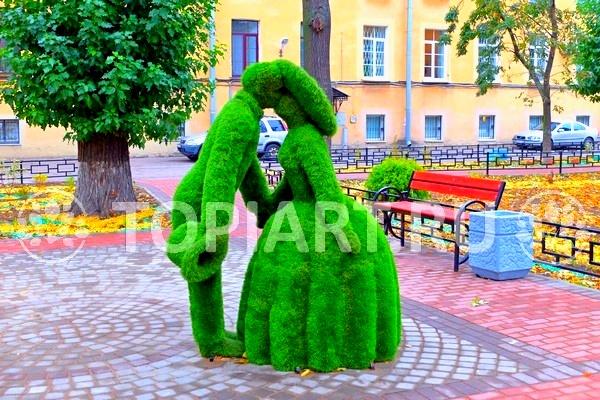 Зеленые фигуры изготовление