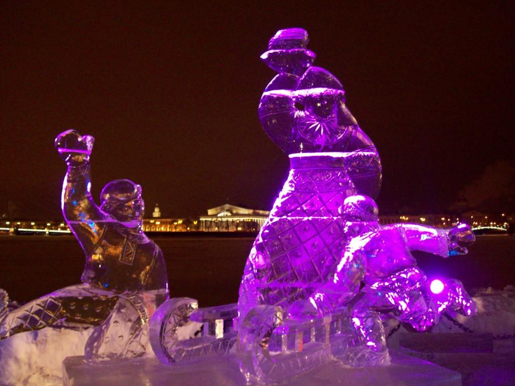 Фестиваль ледовой скульптуры