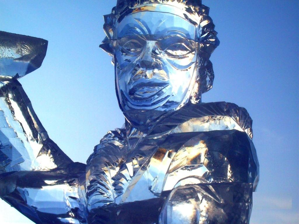 Фестиваль ледовой скульптуры в СПб
