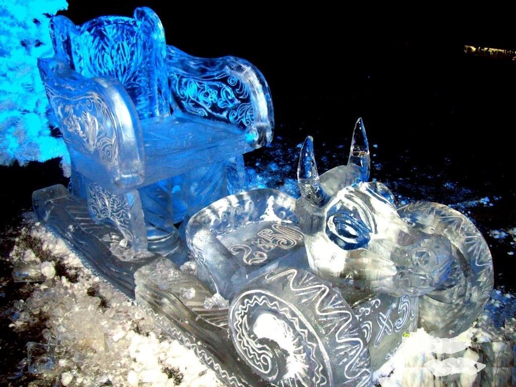 Новогоднее ледовое оформление мероприятий