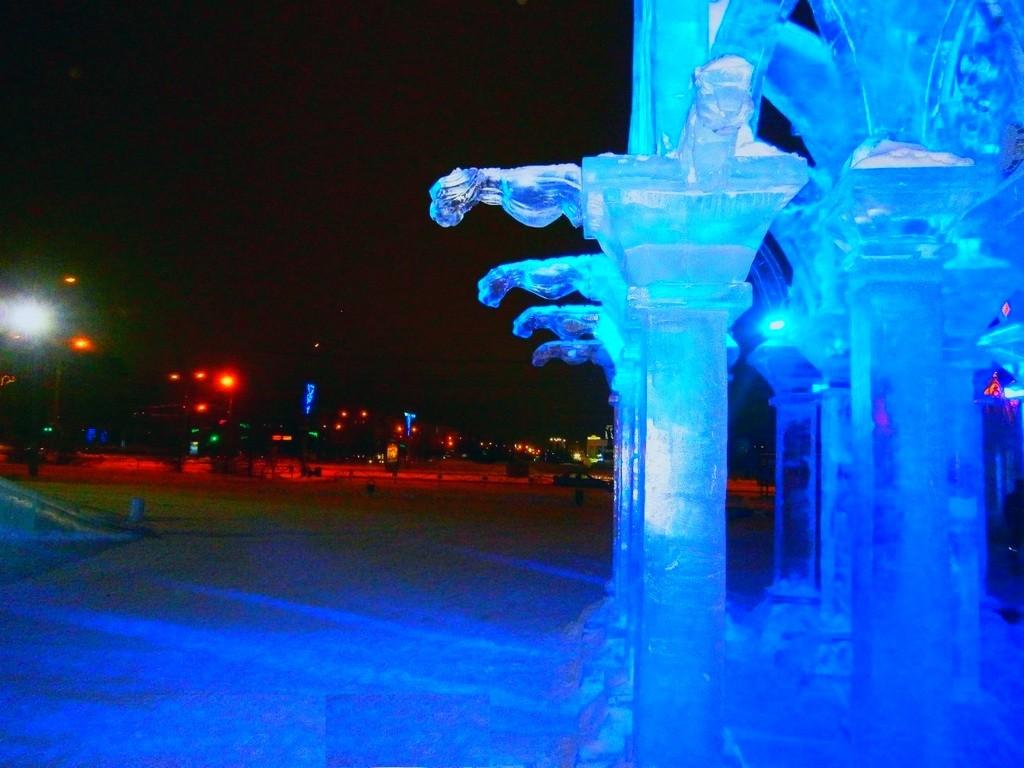 Изготовление ледовых скульптур
