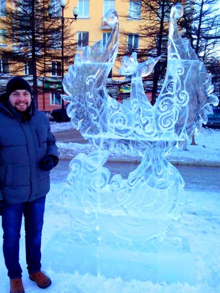 Ледовая скульптура изготовление