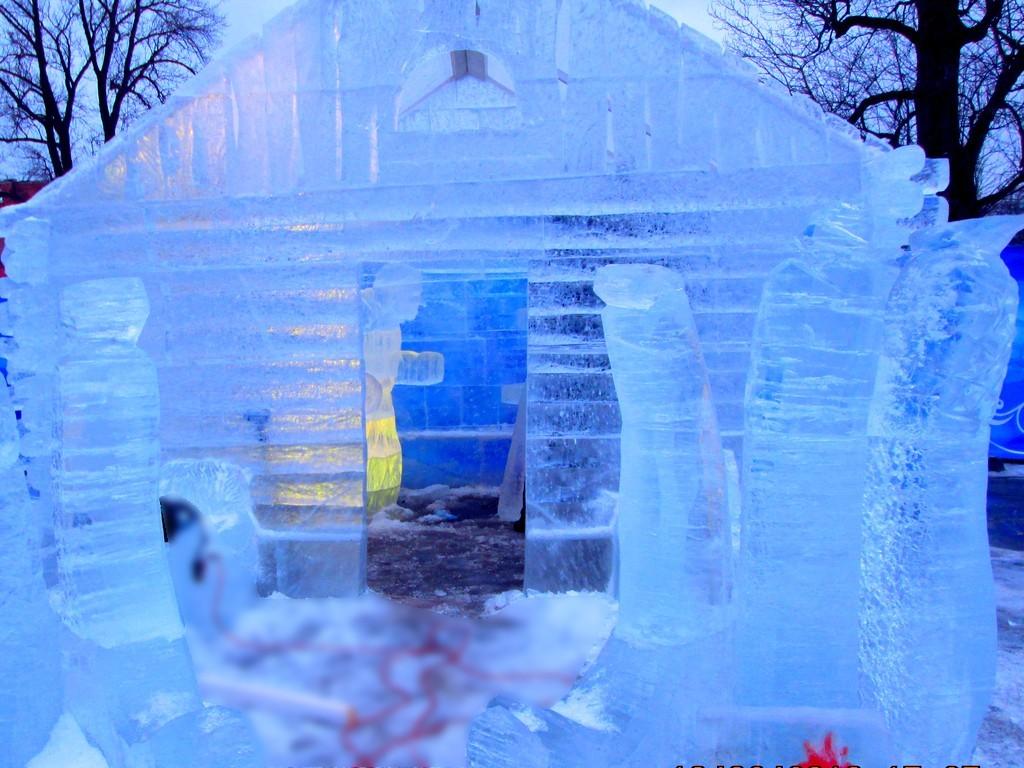 Изготовление ледовых городков TOPiART.RU