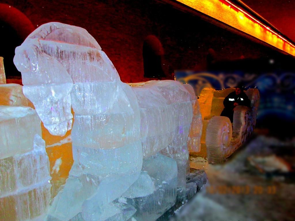 Ледовый фестиваль Петропавловская крепость