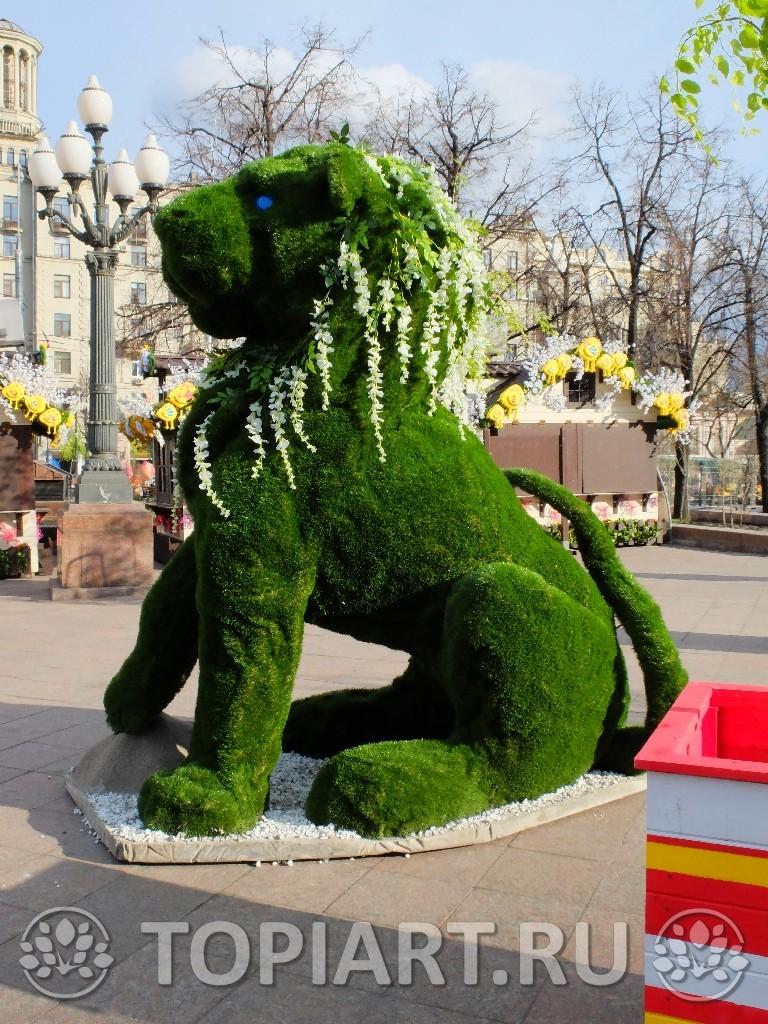 Зеленые фигуры, изготовление, доставка и установка в Москве, Краснодаре, Волгограде