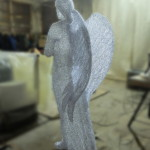 """Светящаяся акриловая фигура """"Ангел"""""""