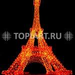 "Светодиодная фигура ""Эйфелева Башня"" www.topiart.ru"