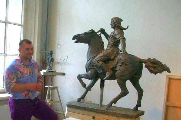 Руслан Арсланбаев, TOPiART.RU, скульптор