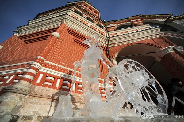 Гран-при России по ледовой скульптуре 2013г. г. Москва