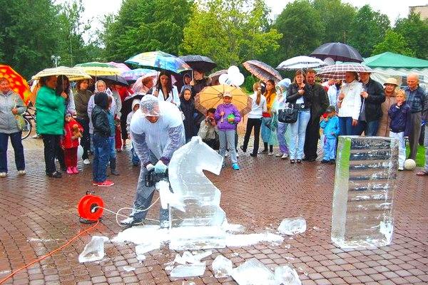 Мастер-класс по созданию ледовых скульптур