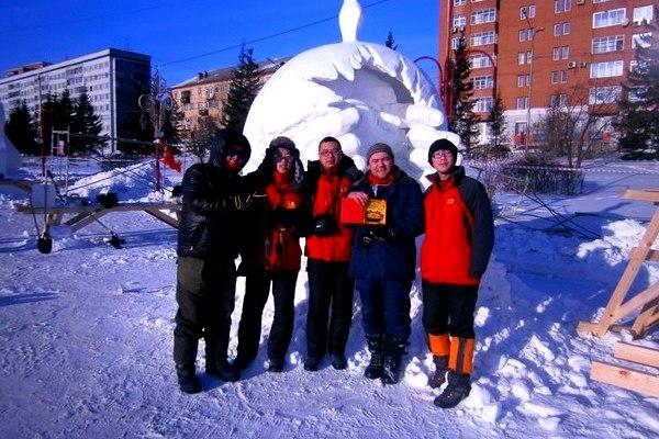 Фестиваль снежных и ледовых скульптур в Харбине Китай