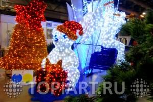 Светящиеся фигуры для оформления магазинов