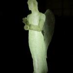 """Фигура 3D из акрила светящаяся """"Ангел"""""""