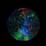 Новогодний светящийся Шар, со светодиодной подсветкой